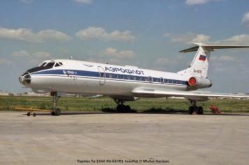 002 Tupolev Tu-134A RA-65781 Aeroflot © Michel Anciaux