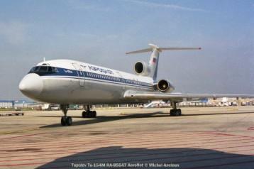 011 Tupolev Tu-154M RA-85647 Aeroflot © Michel Anciaux