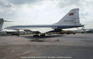 017 Tupolev TU 144D CCCP-77112 Aeroflot © Michel Anciaux