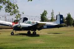 05 Beechcraft C-50 Twin Bonanza ''N919'' FACH (MNAE) © Michel Anciaux