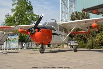 10 Cessna O-2A ''264'' FACH (MNAE) © Michel Anciaux