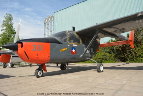 11 Cessna O-2A ''Naval 331'' Aviación Naval (MNAE) © Michel Anciaux