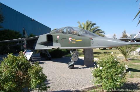 18 SEPECAT Jaguar E ''7-HX'' French Air Force (MNAE) © Michel Anciaux