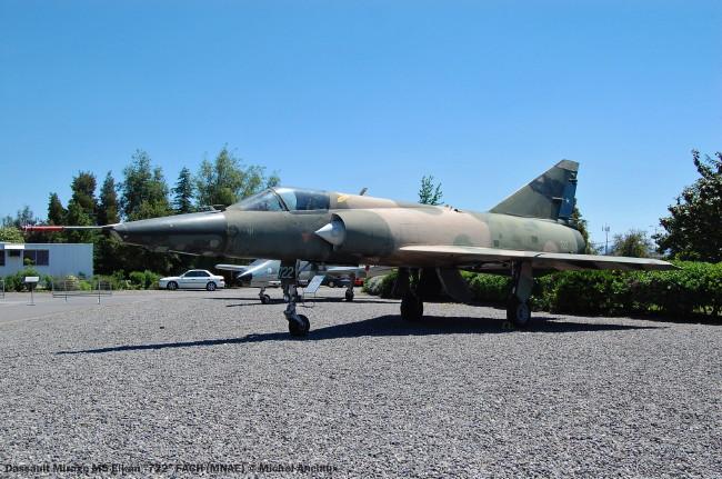 21 Mirage M5 Elkan ''722'' FACH (MNAE) © Michel Anciaux