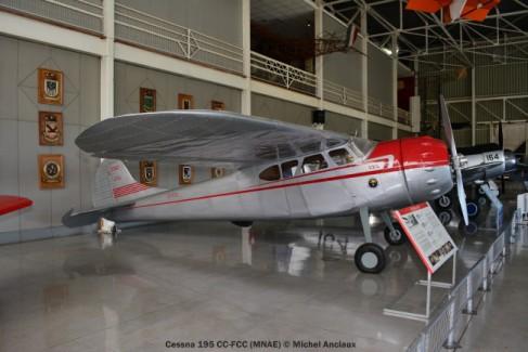 26 Cessna 195 CC-FCC (MNAE) © Michel Anciaux
