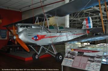 43 De Havilland DH 60 Gipsy Moth ''32'' Linea Aerea Nacional (MNAE) © Michel Anciaux