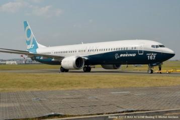 Boeing 737-9 Max N7379E Boeing © Michel Anciaux