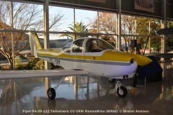 DSC_0009 Piper PA-38-112 Tomahawk CC-CRM RomeoMike (MNAE) © Michel Anciaux
