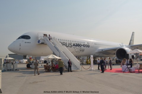 DSC_0051 Airbus A350-1041 F-WLXV Airbus © Michel Anciaux