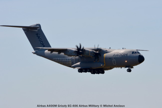 DSC_0398 Airbus A400M Grizzly EC-406 Airbus Military © Michel Anciaux