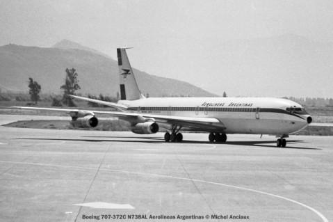 img061 Boeing 707-372C N738AL Aerolineas Argentinas © Michel Anciaux