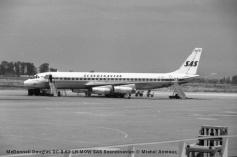 img065 McDonnell Douglas DC-8-62 LN-MOW SAS Scandinavian © Michel Anciaux