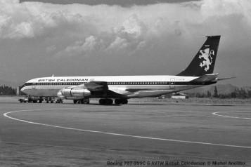 img157 Boeing 707-399C G-AVTW British Caledonian © Michel Anciaux