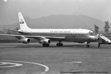 img166 McDonnell Douglas DC-8-55 PH-DCV KLM © Michel Anciaux