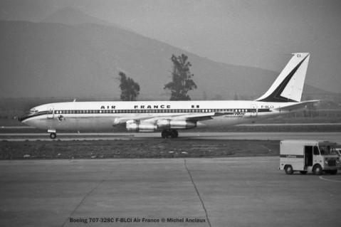 img178 Boeing 707-328C F-BLCI Air France © Michel Anciaux