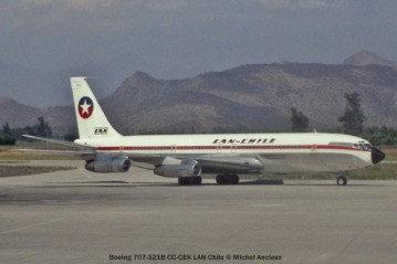 img229 Boeing 707-321B CC-CEK LAN Chile © Michel Anciaux