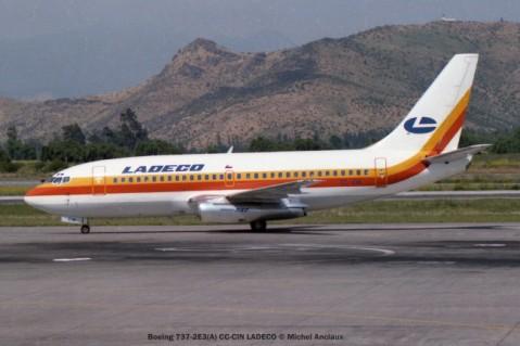 img436 Boeing 737-2E3(A) CC-CIN LADECO © Michel Anciaux