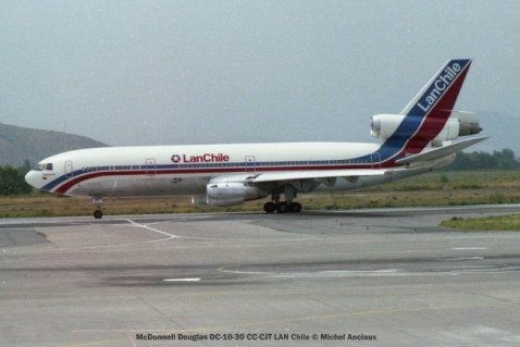 img470 McDonnell Douglas DC-10-30 CC-CJT LAN Chile © Michel Anciaux