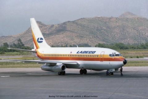 img477 Boeing 737-2K6(A) CC-CIM LADECO © Michel Anciaux