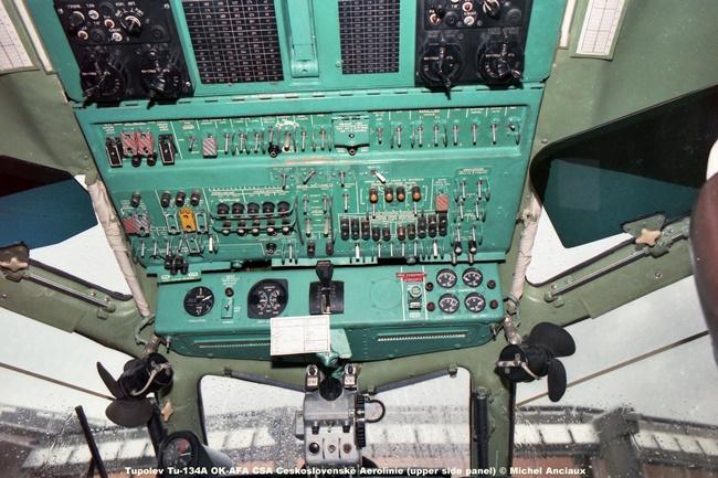 img498 Tupolev Tu-134A OK-AFA CSA Ceskoslovenské Aerolinie (upper side panel) © Michel Anciaux