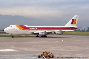 img501 Boeing 747-256B EC-DLC Iberia © Michel Anciaux