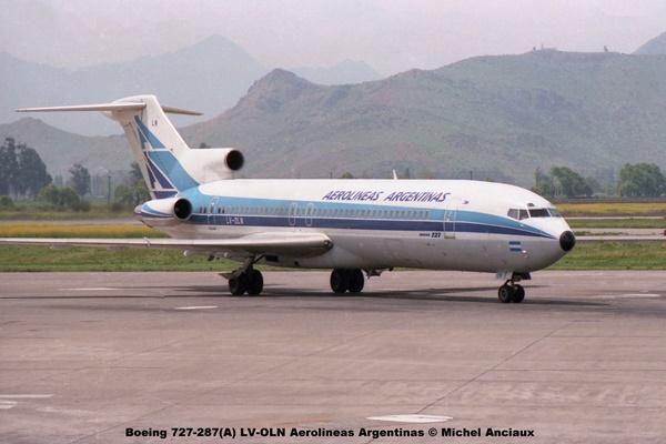img510 Boeing 727-287(A) LV-OLN Aerolineas Argentinas © Michel Anciaux