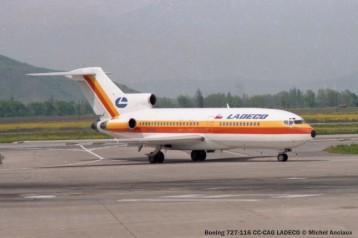 img519 Boeing 727-116 CC-CAG LADECO © Michel Anciaux