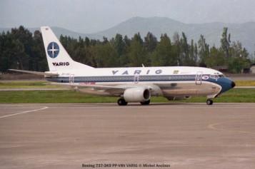 img522 Boeing 737-3K9 PP-VNV VARIG © Michel Anciaux
