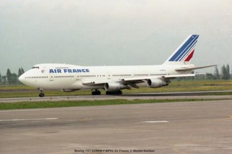 img524 Boeing 747-228BM F-BPVU Air France © Michel Anciaux