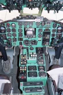 img543 Tupolev Tu-154M CCCP-85665 Aeroflot © Michel Anciaux