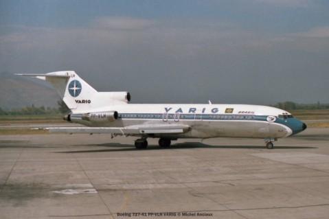 img553 Boeing 727-41 PP-VLH VARIG © Michel Anciaux