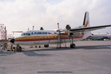 img562 Fokker F-27-500F CC-CIT LADECO © Michel Anciaux