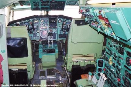 img725 Tupolev TU-144D CCCP-77112 Aeroflot © Michel Anciaux