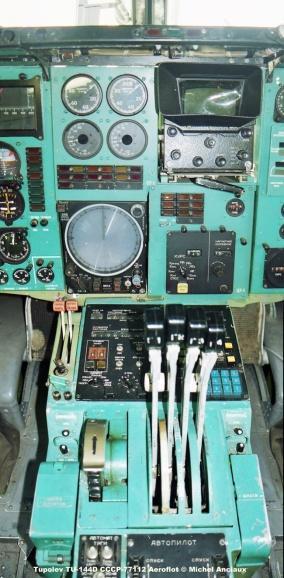 img726 Tupolev TU-144D CCCP-77112 Aeroflot © Michel Anciaux