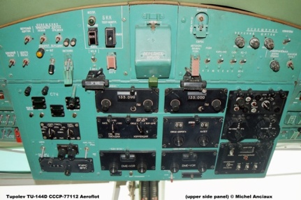 img727 Tupolev TU-144D CCCP-77112 Aeroflot (upper side panel) © Michel Anciaux