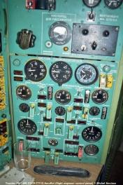 img733 Tupolev TU-144D CCCP-77112 Aeroflot (flight engineer control panel) © Michel Anciaux