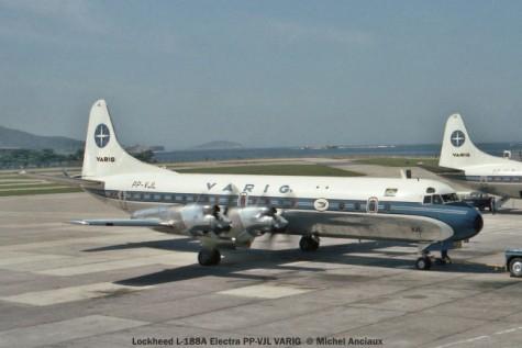001 Lockheed L-188A Electra PP-VJL VARIG © Michel Anciaux