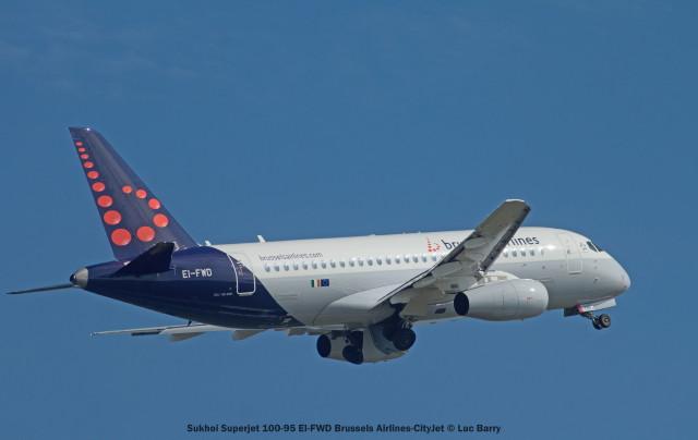 002 Sukhoi Superjet 100-95 EI-FWD Brussels Airlines-CityJet © Luc Barry