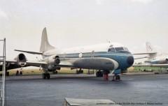 003 Lockheed L-188A Electra 9Q-CDK Blue Airlines © Michel Anciaux