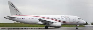 004 Sukhoi Superjet 100-95 EI-FWA CityJet © Hubert Creutzer