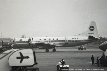 005 Lockheed L-188A Electra PP-VJO VARIG © Michel Anciaux
