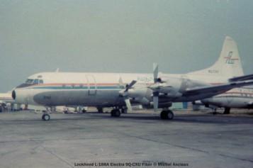 007 Lockheed L-188A Electra 9Q-CXU Filair © Michel Anciaux