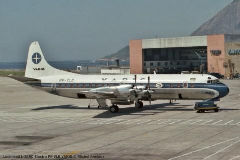 017 Lockheed L-188C Electra PP-VLB VARIG © Michel Anciaux