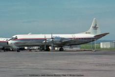 019 Lockheed L-188C Electra 9Q-CUU Filair © Michel Anciaux