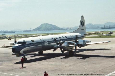 021 Lockheed L-188A Electra PP-VLC VARIG © Michel Anciaux