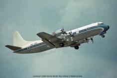 023 Lockheed L-188A Electra 9Q-CDL Blue Airlines © Michel Anciaux
