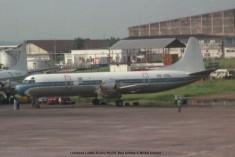 024 Lockheed L-188A Electra 9Q-CDL Blue Airlines © Michel Anciaux
