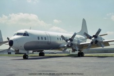 030 Lockheed L-188A Electra HR-AML Interlink Airlines © Michel Anciaux