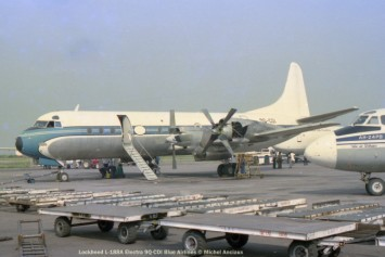 033 Lockheed L-188A Electra 9Q-CDI Blue Airlines