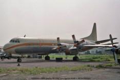037 Lockheed L-188A Electra 9Q-CRM Trans Service Airlift © Michel Anciaux